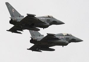 جنگنده های انگلیسی بمبافکنهای روسی را بر فراز آبهای بینالمللی رهگیری کردند