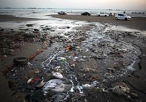 تخلیه فاضلاب صنعتی در دریای خزر!/اتفاق عجیب برای ساینا پس از چند ساعت ماندن در آفتاب! + فیلم و تصاویر