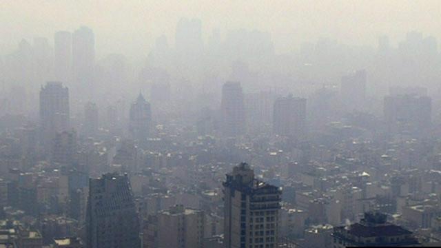 هوای تهران پس از ۶روز ناسالم شد