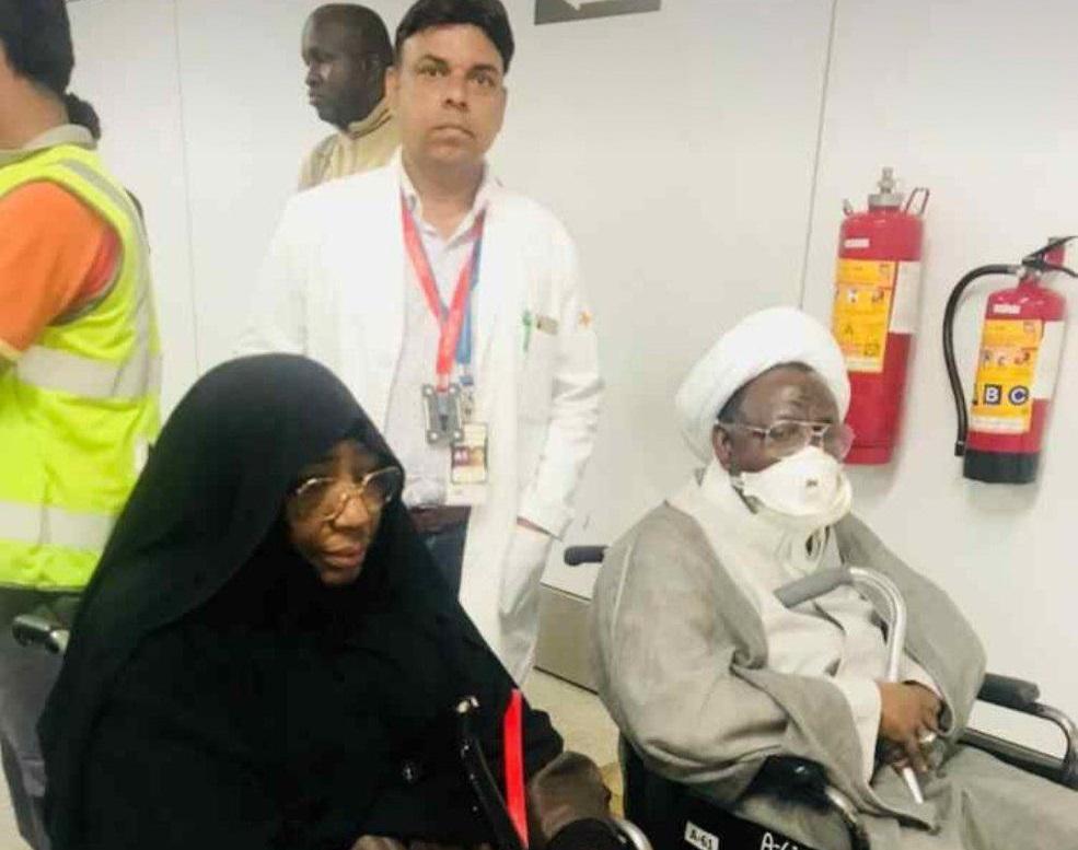 نیروهای امنیتی نیجریه شیخ زکزاکی را در هندوستان همراهی میکنند/ انتقال مجدد شیخ زکزاکی به نیجریه پس از درمان