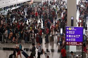 فعالیت فرودگاه بین المللی هنگ کنگ از سرگرفته شد