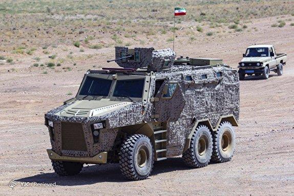 خودروي،مسلح،خودرو،ارس،ضد،توان،رونمايي،رعد،زرهي،طوفان،دفاع،قابلي…