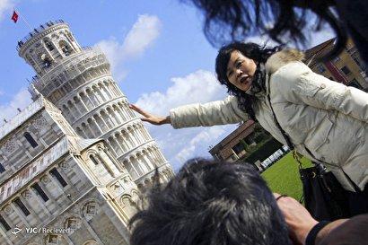 برجهای کج مشهور جهان