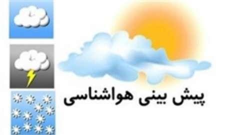 رگبار و رعد و برق در ۱۷ استان کشور/آسمان تهران کمی ابری است