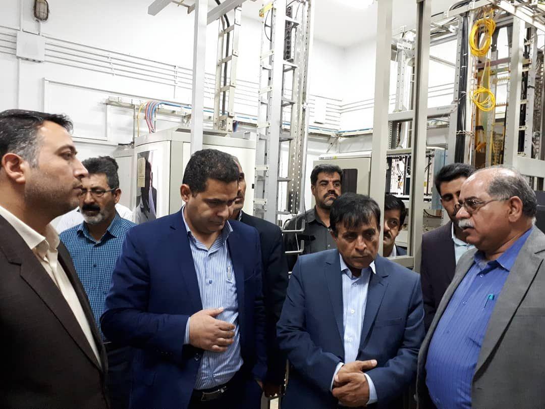 افتتاح ۶۱ پروژه بخش ارتباطات و فناوری اطلاعات در شهرستان شهربابک