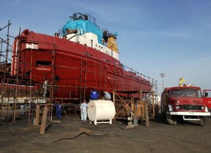 تعمیر شناورهای دریایی بندر چابهار به همت متخصصان داخلی/ انجام عملیات تعمیر اساسی 3 فروند شناور