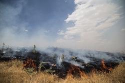 وقوع ۱۴ مورد آتش سوزی در آبیدر سنندج