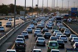 ترافیک نیمه سنگین در اتوبان زنجان - قزوین و زنجان - تبریز