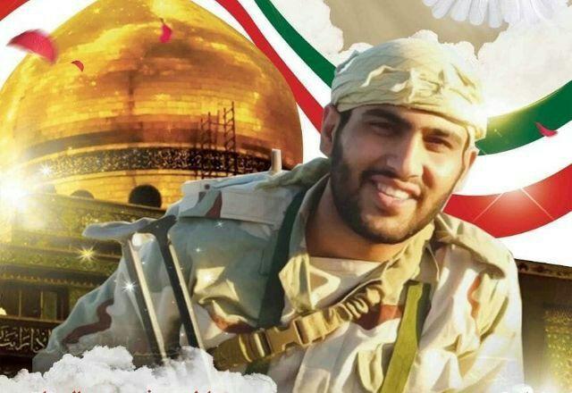 اشکهای دلسوزانه برادر کوچک شهید مدافع حرم پیش از اعزام به سوریه +فیلم