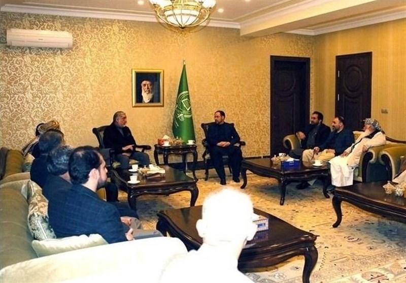 رایزنی عبدالله با اعضای تیم انتخاباتی حنیف اتمر