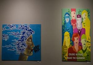 افتتاح نمایشگاه آثار بخش پوستر جشنواره بین المللی تئاتر الف