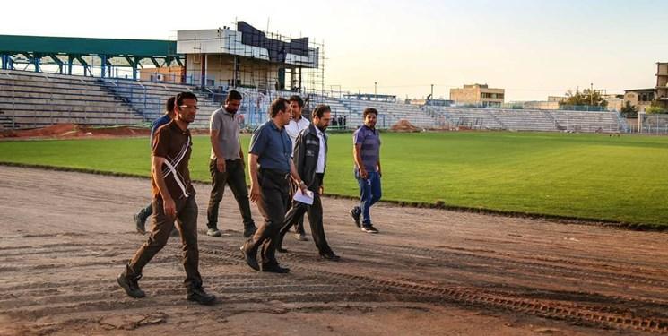 ورزشگاه خانگی گل گهر سیرجان آماده میزبانی از مسابقات برتر شد