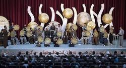 برگزاری آیین افتتاحیه جشنواره بین المللی دف نوای رحمت در سنندج
