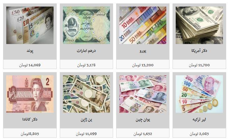 جزئیات نرخ ارز در صرافی ها/ دلار به قیمت ۱۱ هزار و ۷۰۰ تومان معامله شد