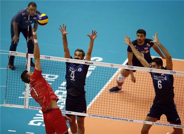 والیبال ایران چگونه به المپیک میرود؟