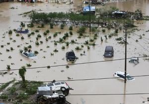 توفان چین بیش از ۱۲ میلیون نفر را تحت تأثیر قرار داد
