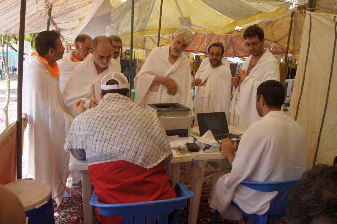 ارائه بیش از ۲۷۴ هزار مورد خدمات درمانی به زائران در حج/ ۵۱ زائر بستری در بیمارستانهای هلالاحمر و سعودی