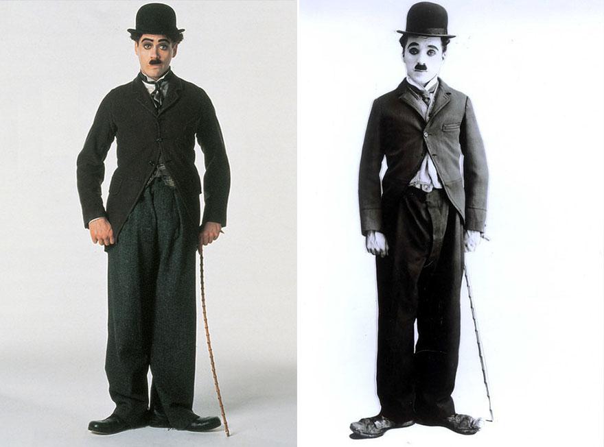 بازیگرانی که نقش افراد شبیه به خود را بازی کرده اند