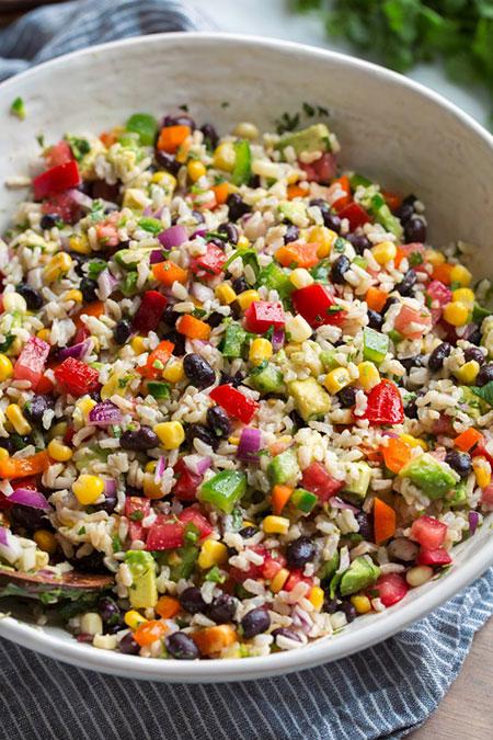 باشگاه خبرنگاران -برنج قهوهای و سبزیجات رنگی؛ ترکیبی پر فیبر و مغذی + دستور تهیه