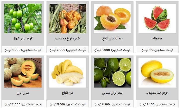 خرید انواع میوه دستچین در غرفه تره بار چقدر هزینه دارد؟ + قیمت