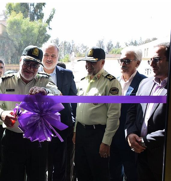 ساختمان جدید اداره پلیس آگاهی زاهدان افتتاح شد
