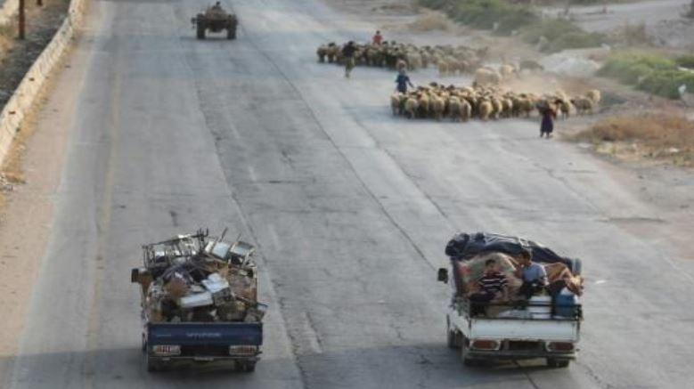 پیشروی نیروهای سوری به سوی شهری کلیدی در شمال غربی سوریه