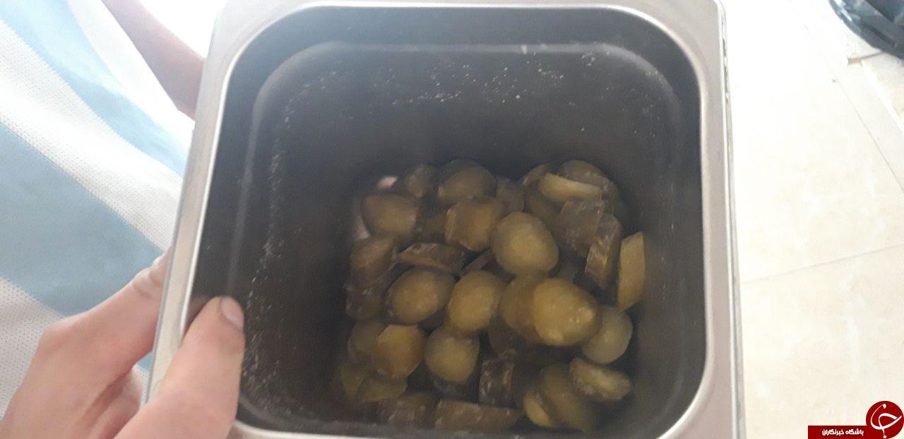 شیشلیک ۹۰ هزار تومانی با گوشت فاسد/ سطل آشغال منبع تامین گوشت رستوران دار کن و سولقان + عکس