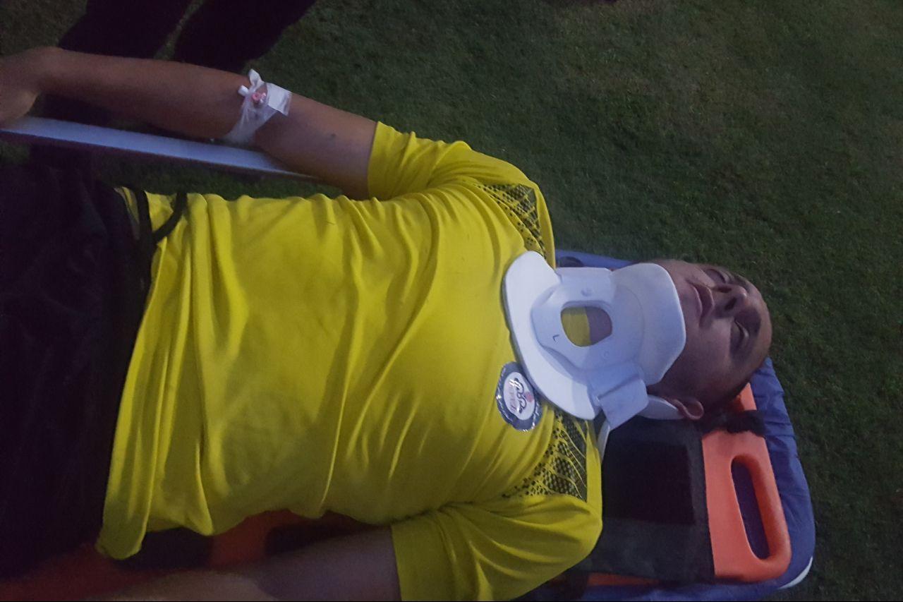آسیب دیدگی شدید بازیکن لیگ برتری در دیدار دوستانه + عکس