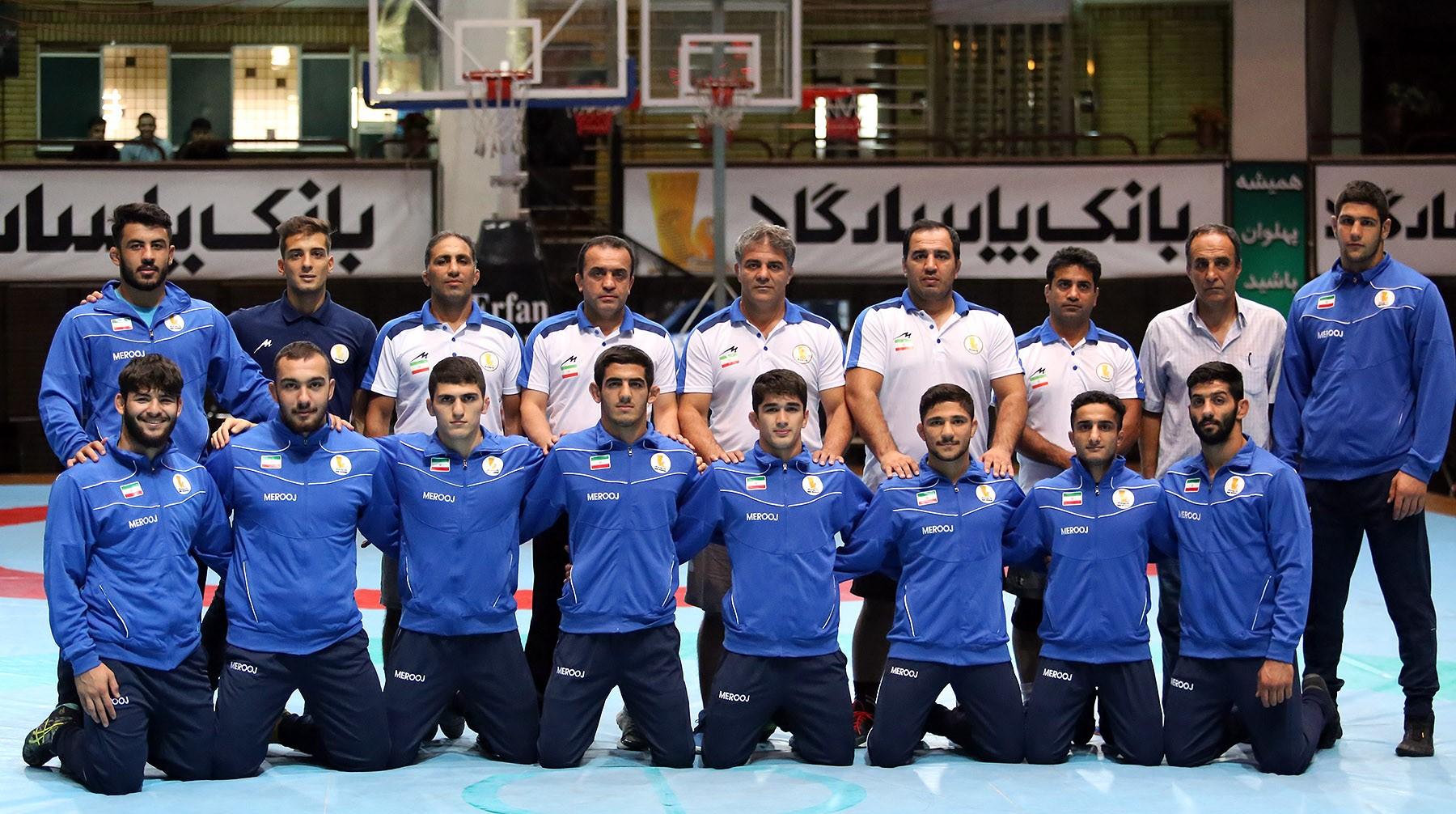 عنوان سومی ایران در رقابت های کشتی آزاد جوانان جهان