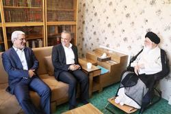معاون سیاسی وزیر کشور با آیتالله علم الهدی دیدار کرد