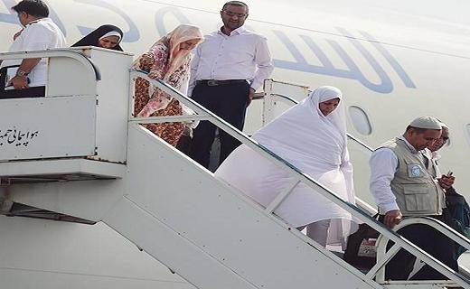 اولین گروه حجاج یزدی ظهر جمعه به وطن باز میگردند