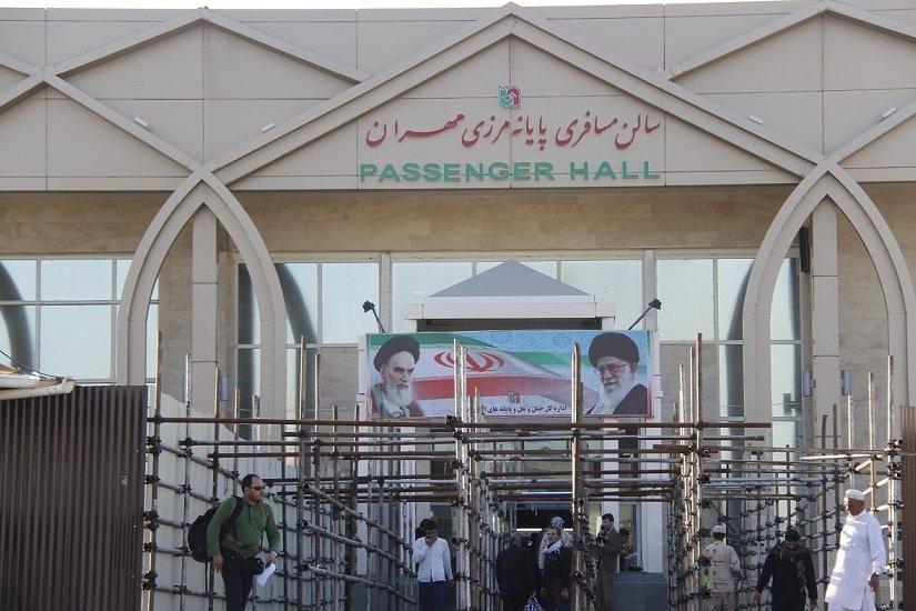 تردد روزانه شش هزار زائر از مرز مهران