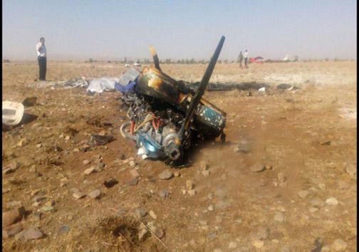 سقوط هواپیمای آموزشی در گرمسار/ ۲ نفر جان باختند