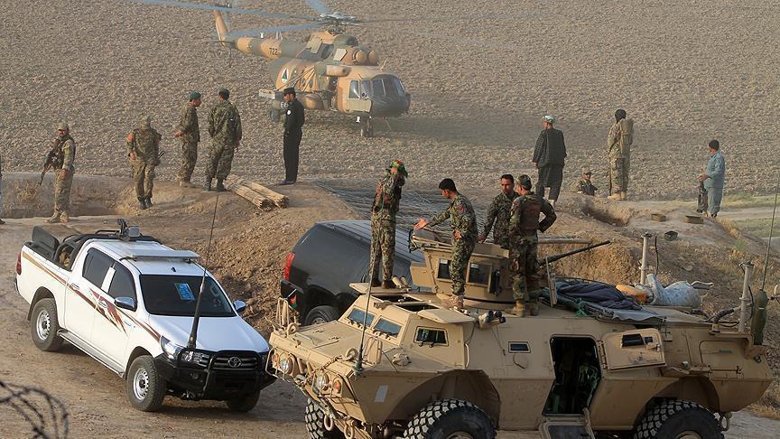 انهدام یک انبار مهمات گروه طالبان در لوگر