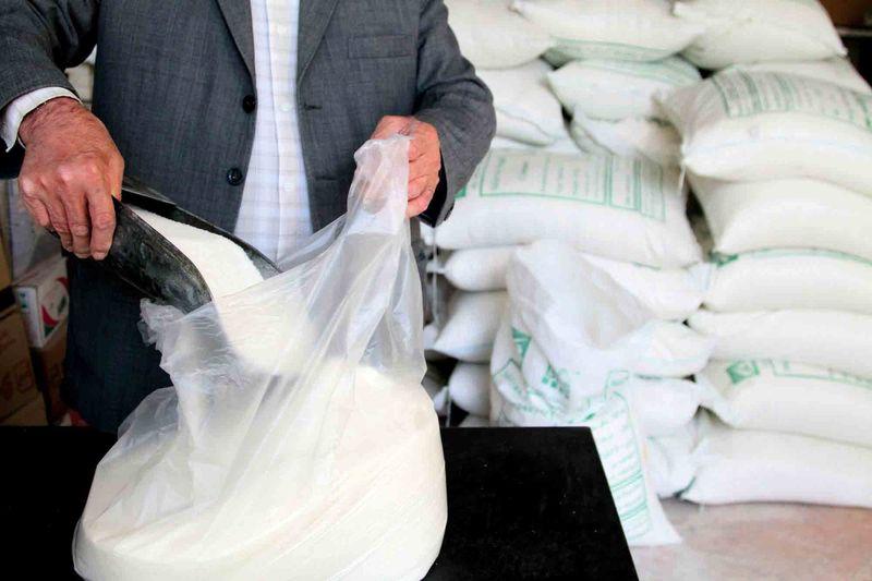 توزیع بیش از ۳ هزار تن شکر در استان ایلام