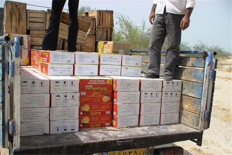 توقیف محموله ۸ میلیارد ریالی کالای قاچاق در استان مرکزی
