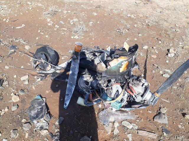 نخستین تصویر از جانباختگان سقوط هواپیمای آموزشی در گرمسار +عکس