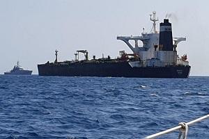 درخواست وزارت دادگستری آمریکا برای توقیف نفتکش گریس ۱