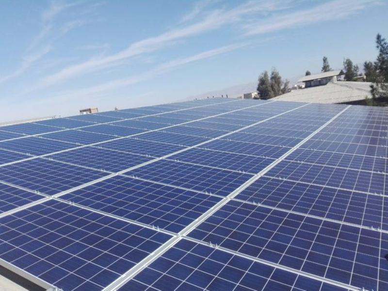 نخستین نیروگاه خورشیدی خانگی استان بوشهر بهرهبرداری شد