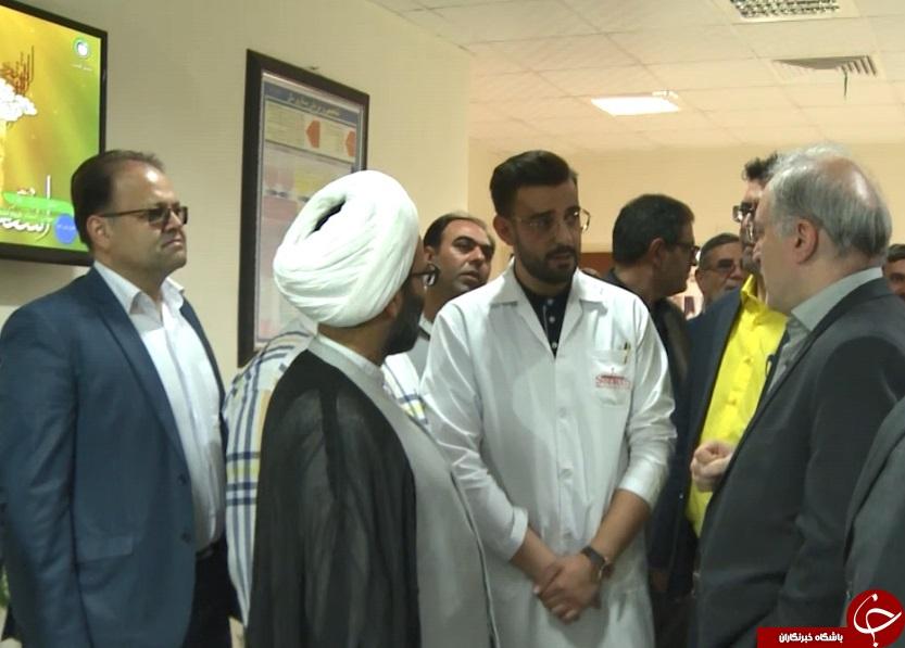 وزیر بهداشت وارد دلیجان شد /یکدستگاه سی تی اسکن هدیه نمکی به مردم دلیجان