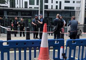 حمله با سلاح سرد مقابل وزارت کشور انگلیس