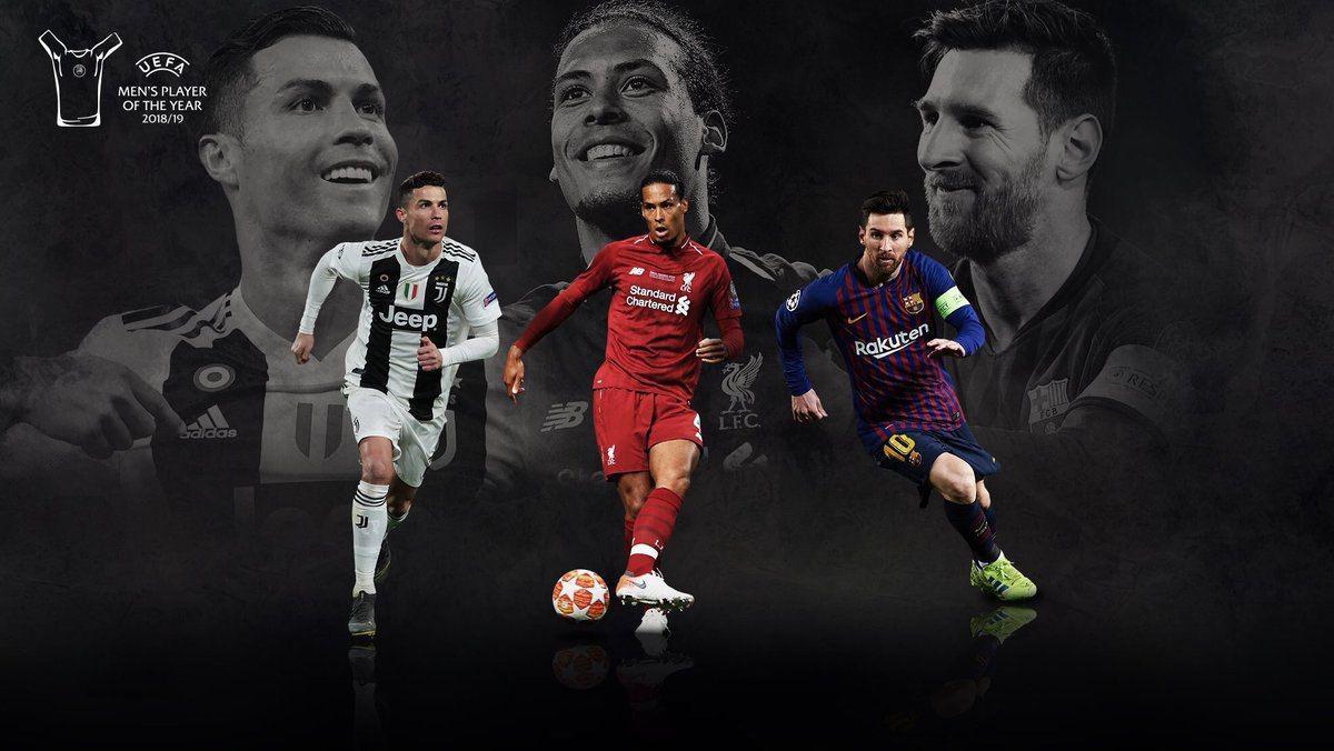 نامزدهای بهترین بازیکن فصل فوتبال اروپا + عکس