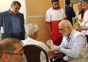باشگاه خبرنگاران -ارائه خدامات درمانی به بیش از ۴۰۰ هزار زائر در ایام تشریق/ انجام ۴ مورد عملیات احیای قلبی در مراسم حج امسال