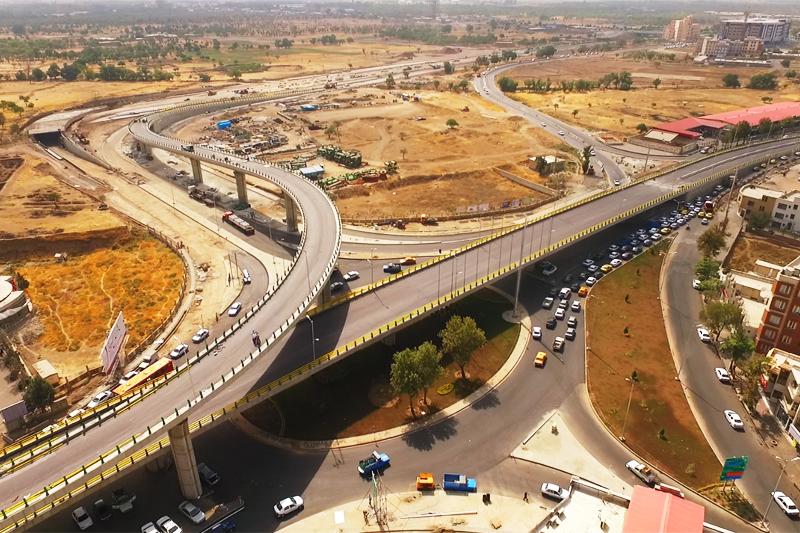 بهره برداری از تقاطع غیر هم سطح با اعتبار ۷۰ میلیارد تومانی