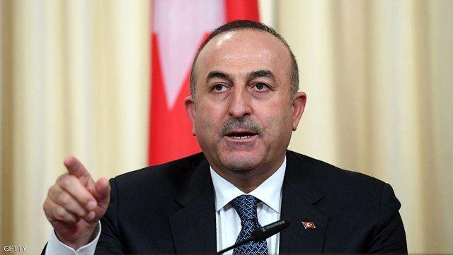 انتقاد وزیر خارجه ترکیه از سیاستهای فریبکارانه آمریکا در خاورمیانه