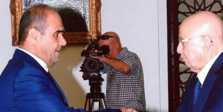 سفیر ایران استوارنامه خود را تقدیم رئیس جمهوری موقت الجزایر کرد