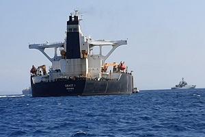 تهدید آمریکا به تحریم خدمه نفتکش گریس ۱