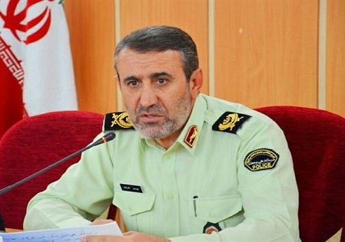 پیام تسلیت فرمانده انتظامی استان در پی درگذشت میراحمد تقوی