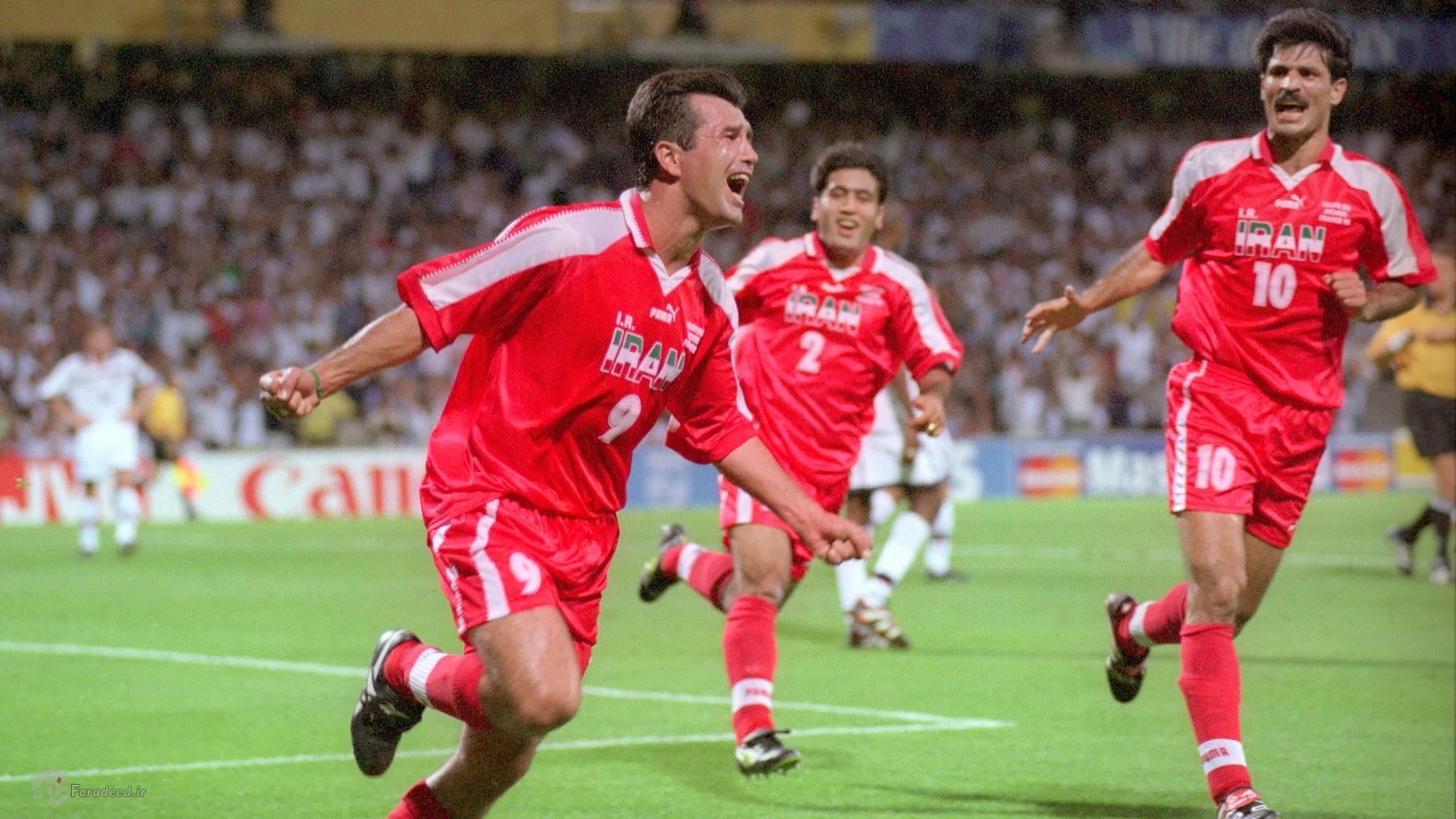 خلاصه دیدار به یاد ماندنی ایران و آمریکا در جام جهانی ۱۹۹۸ +فیلم