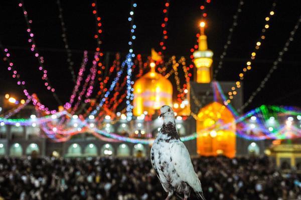اعلام ویژه برنامههای حرم رضوی در شب میلاد امام هادی (ع)